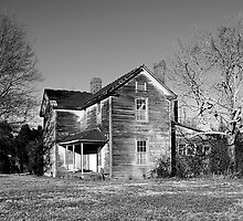 old abandoned house on HWY 86 NC by BCallahan