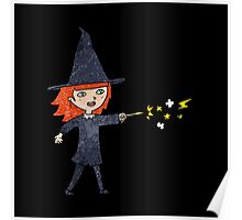 witch casting spell Poster