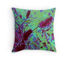 Pink Banksia Throw Pillow