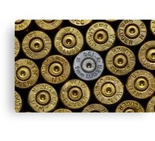 9mm Brass #1 Canvas Print