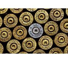 9mm Brass #1 Photographic Print