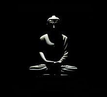 Buddha statue by enolabrain