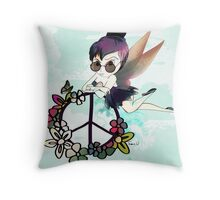 Tinky Tinker-bell Fairy  Throw Pillow
