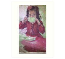 Grown up High Tea Art Print