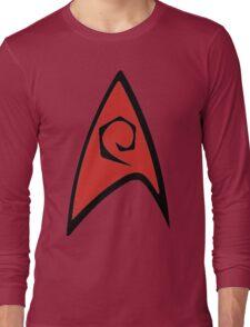 Engineering Badge  Long Sleeve T-Shirt
