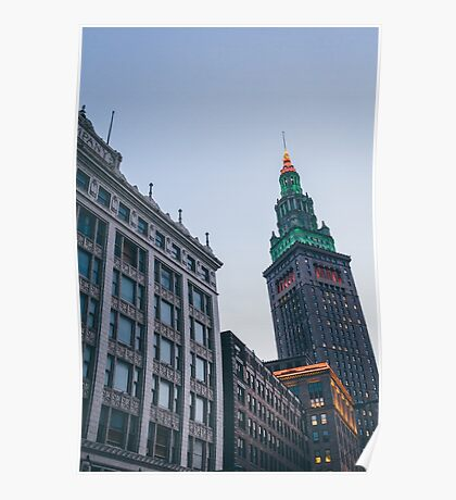 Terminal Tower Cleveland  Poster