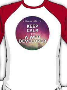 Keep calm I'm a web developer T-Shirt
