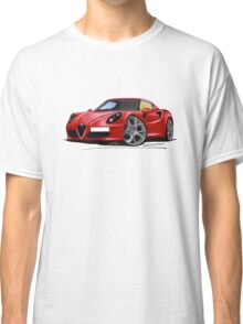 Alfa Romeo 4C Red Classic T-Shirt
