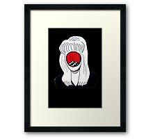 Laura Palmer Black Lodge  Framed Print