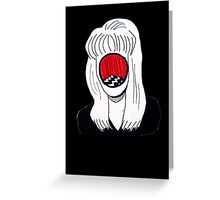 Laura Palmer Black Lodge  Greeting Card