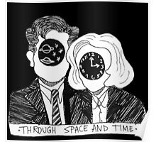 Through Space and Time Poster