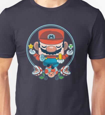 Mario: Destroyer of Obstacles Unisex T-Shirt