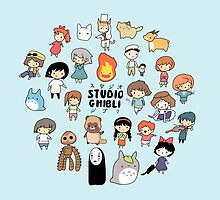 Studio Chibi by Steph Hodges
