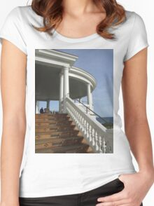 ocean house 2011  Women's Fitted Scoop T-Shirt