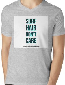 SURF HAIR DONT CARE Mens V-Neck T-Shirt