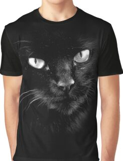 Black Cats Rule Graphic T-Shirt