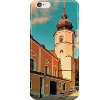 The village church of Helfenberg VII | architectural photography iPhone Case/Skin
