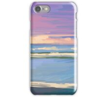 sea landscape iPhone Case/Skin