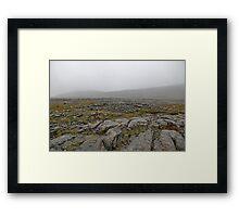 The Bare Burren Framed Print