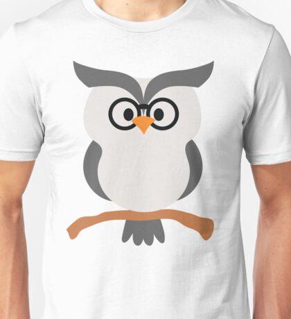 Night Owl Emoji Nerdy Noob Glasses Face Unisex T-Shirt