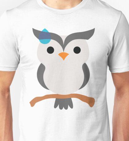 Night Owl Emoji Sweat and Speechless Face Unisex T-Shirt