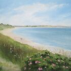Portrane Beach by Geraldine M Leahy