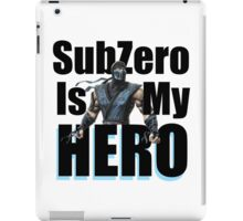 SubZero Is My Hero iPad Case/Skin