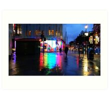 Leicester Square Rainbow Reflections Art Print