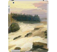 river rock iPad Case/Skin