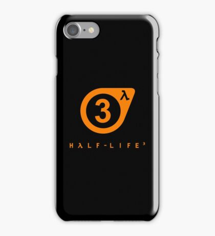 Half Life 3 iPhone Case/Skin