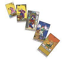 Tarot Cards 0 - 4 Photographic Print