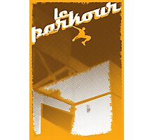 Parkour print Photographic Print