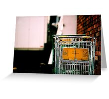 Time to shop! Greeting Card