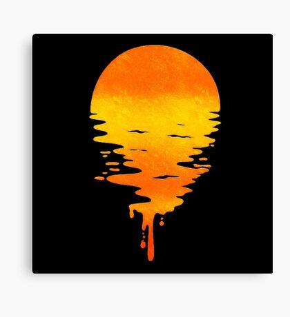Sun Drip Canvas Print