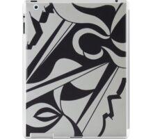 BLACK ON WHITE iPad Case/Skin