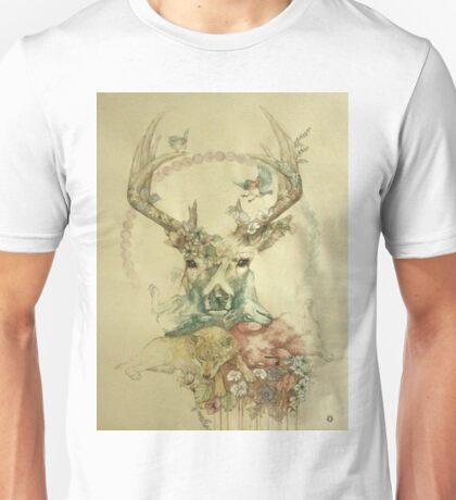 Water Paint Unisex T-Shirt