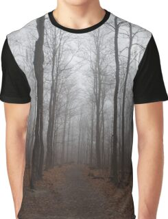 forest fog Graphic T-Shirt