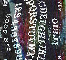 Freaky Ouija Phone Case  by Alisha Mumby