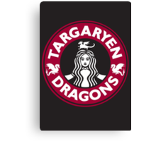Always Hot: Red Variant Canvas Print
