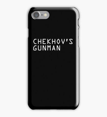 Chekhov's Gunman iPhone Case/Skin