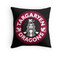 Always Hot: Red Variant Throw Pillow