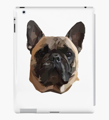 Pickles the Frenchie iPad Case/Skin