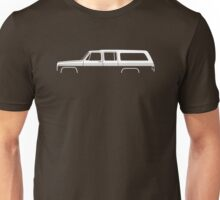 Truck Silhouette - for Chevrolet Suburban 1973-1991, 8th Gen enthusiasts Unisex T-Shirt