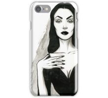 Vampira iPhone Case/Skin