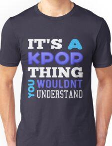 A KPOP THING - blue Unisex T-Shirt