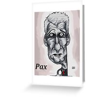 Paxman Greeting Card
