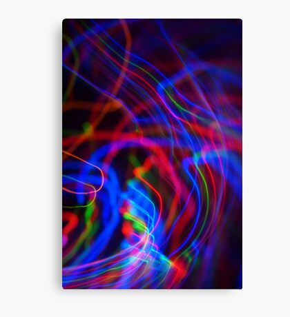 neon led abstract Canvas Print