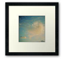 The Whale Framed Print