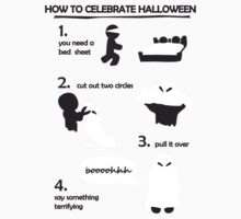 How to celebrate Halloween Ghost Kids Clothes
