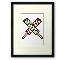 Twisters Framed Print
